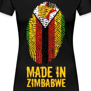 Made In Zimbabwe / Zimbabwe / Great Zimbabwe - Maglietta Premium da donna