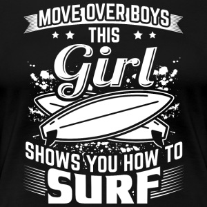 Surf MOVEOVER - Women's Premium T-Shirt