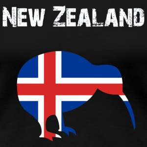Nation-Design New Zealand Kiwi - Frauen Premium T-Shirt