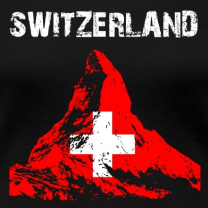 Nation-Design Switzerland Matterhorn - Frauen Premium T-Shirt