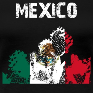 Nation design Mexico Opuntia - Dame premium T-shirt