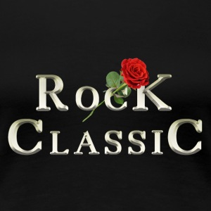 Rock Classic Rose - Frauen Premium T-Shirt
