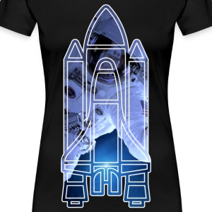 Space Shuttle - Astronaut - Women's Premium T-Shirt