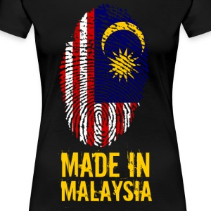 Made In Malaysia / Malaysia - Premium T-skjorte for kvinner