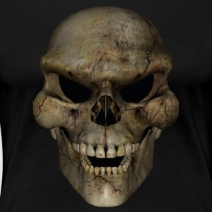 Dirty Skull - Premium T-skjorte for kvinner