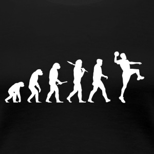 Evolution Handball! Sports! Handbal grappig! - Vrouwen Premium T-shirt