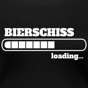 Bierschiss loading - WC - Frauen Premium T-Shirt