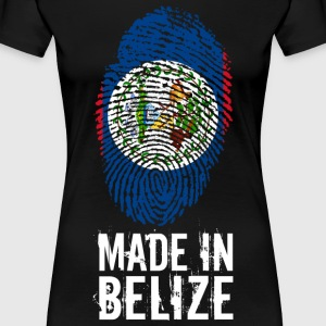 Made In Belize - Dame premium T-shirt