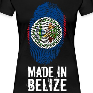 Made In Belize - Maglietta Premium da donna