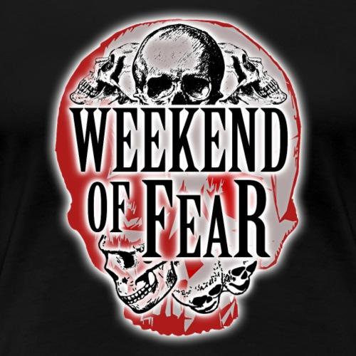 Weekend of Fear Vintage 05 Skull - Frauen Premium T-Shirt