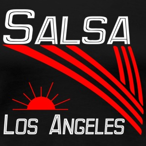 Salsa Los Angeles Classic hvit Pro Dance Edition - Premium T-skjorte for kvinner