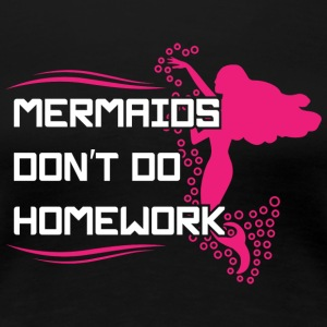 Mermaid roliga barn - Premium-T-shirt dam