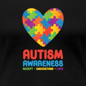 Autism Awareness - Women's Premium T-Shirt