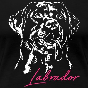 LABRADOR RETRIEVER 2 - Frauen Premium T-Shirt