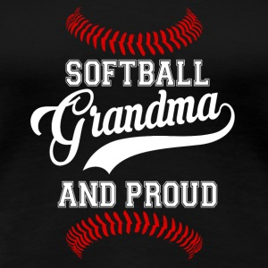 softball grand-mère - T-shirt Premium Femme