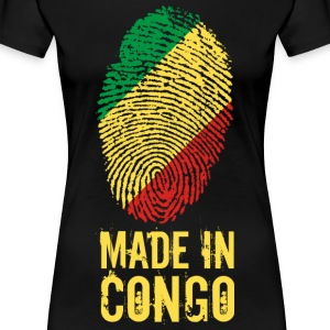 Made In Congo / Congo - Women's Premium T-Shirt