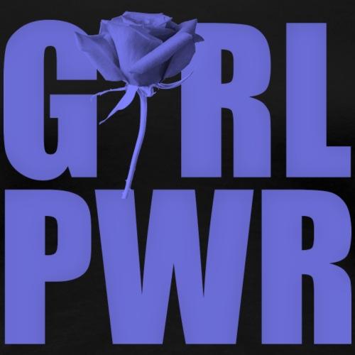 Girl power purple - Frauen Premium T-Shirt