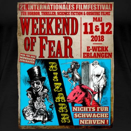 Weekend of Fear Vintage 06 Bizarr - Frauen Premium T-Shirt