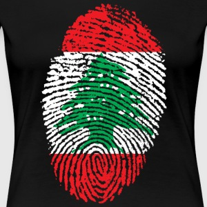 LIBANON 4 EVER COLLECTION - Vrouwen Premium T-shirt