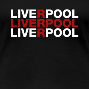 Liverpool United Kingdom Flag Shirt - Liverpool - Premium-T-shirt dam