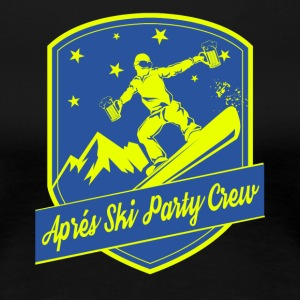 Apps Ski Party Crew - Frauen Premium T-Shirt