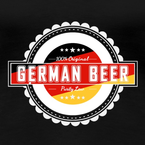 German Beer - Deutsches Bier - Frauen Premium T-Shirt