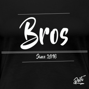 (MEN)BROS ,SINCE 2016 - Premium-T-shirt dam