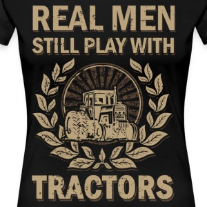 Tractors for real men - Women's Premium T-Shirt
