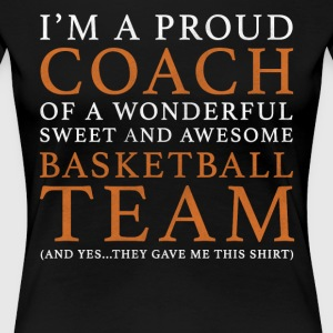 Original Basketball Coach Gift - Women's Premium T-Shirt