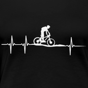 Bicycle heartbeat - Women's Premium T-Shirt