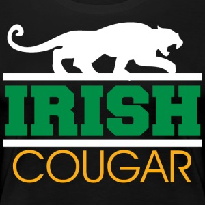 Irish Cougar Kvinnor - Premium-T-shirt dam