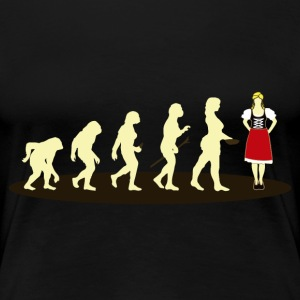 DIRNDL EVOLUTION - Women's Premium T-Shirt