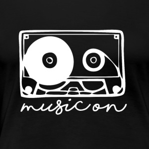 Music On - Musikk Passion - Premium T-skjorte for kvinner