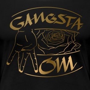 Gangsta Mom GLD - Women's Premium T-Shirt