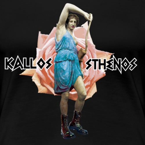 Warriorgirls - Camiseta premium mujer