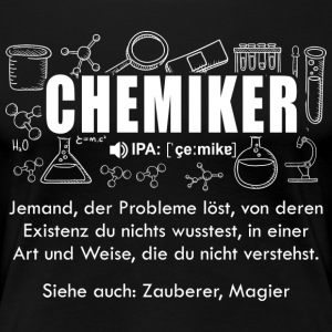 chemist Dictionary - Women's Premium T-Shirt