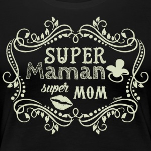 Super Mom (F) - Premium T-skjorte for kvinner