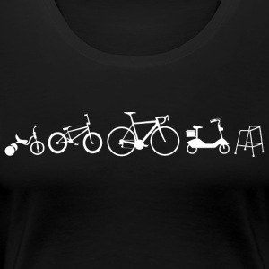 Bicycle evolution - Women's Premium T-Shirt