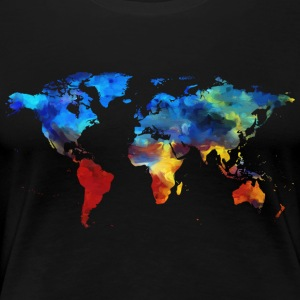 Colorful world - Women's Premium T-Shirt