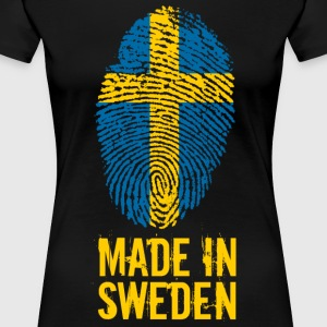Made In Sweden / Suède / Sverige - T-shirt Premium Femme