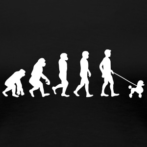 Pudel - Evolution - Premium-T-shirt dam