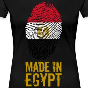 Gemaakt in Egypte / Made in Egypte مصر - Vrouwen Premium T-shirt