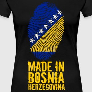 Made in Bosnia and Herzegovina Bosnien Herzegowina - Frauen Premium T-Shirt