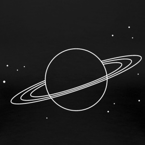 Saturn - Frauen Premium T-Shirt
