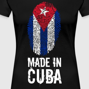Made In Cuba / Cuba - Dame premium T-shirt