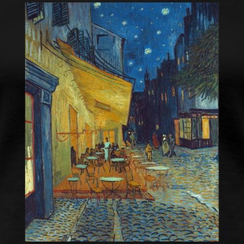 Café-Terrasse am Abend in Arles - Van Gogh - Frauen Premium T-Shirt