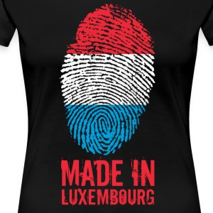Made in Luxembourg / Made in Luxembourg - Premium T-skjorte for kvinner