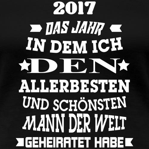 Bester_Mann_V1 - Frauen Premium T-Shirt