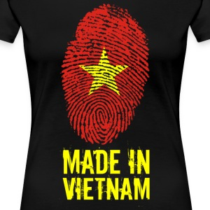 Made In Vietnam / Việt Nam - T-shirt Premium Femme
