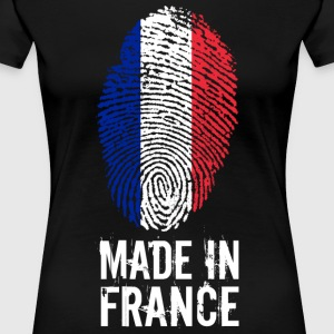 Made In France / Frankrig / République française - Dame premium T-shirt